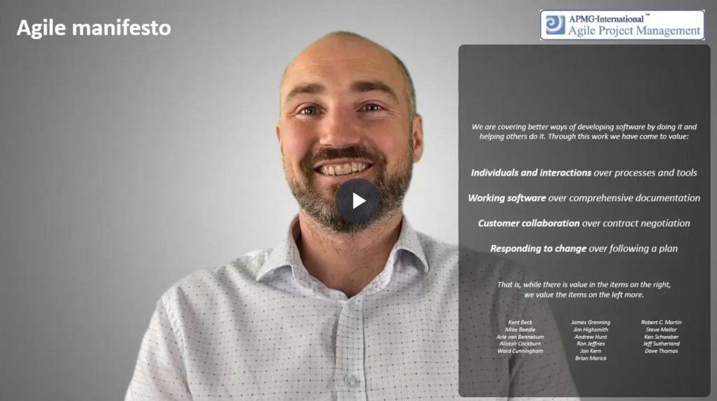 AgilePM® (DSDM) – Agile manifesto