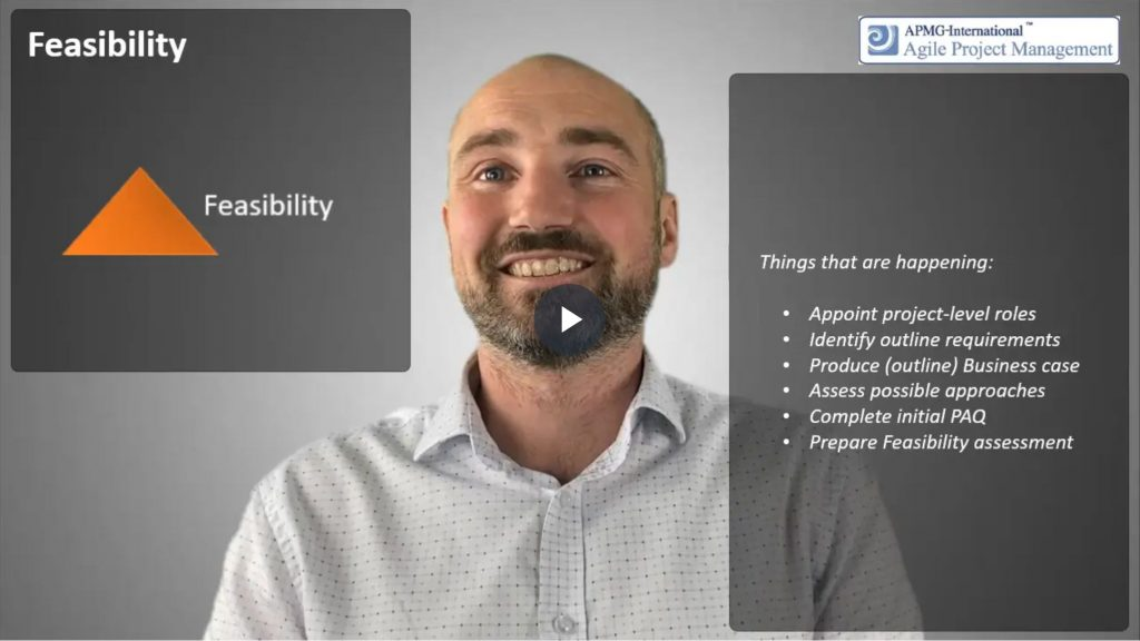 AgilePM® (DSDM) – Lifecycle process – 2. Feasibility