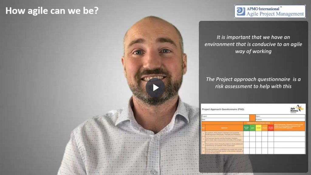 AgilePM® (DSDM) – How agile can we be?