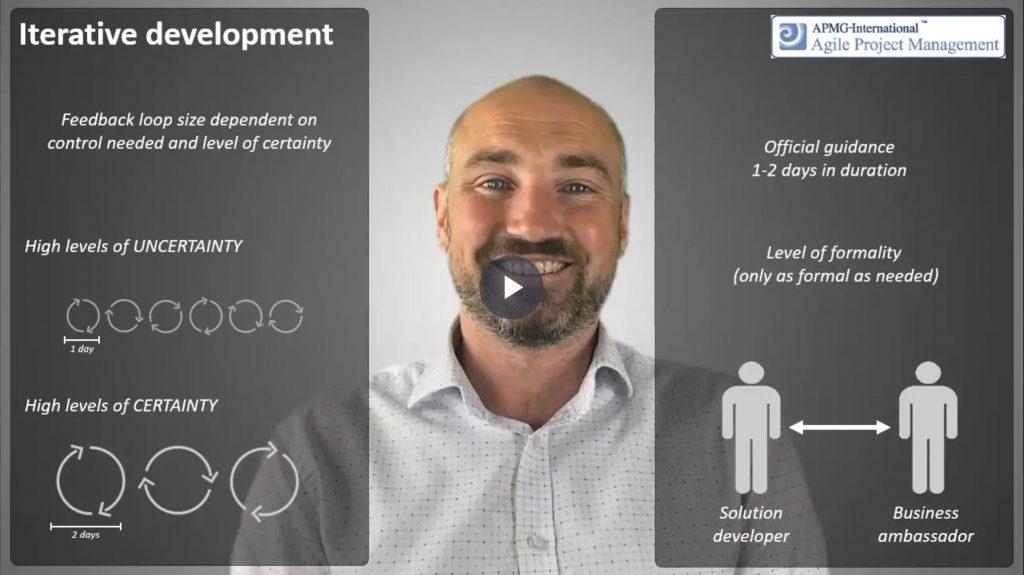 AgilePM® (DSDM) – Iterative development control