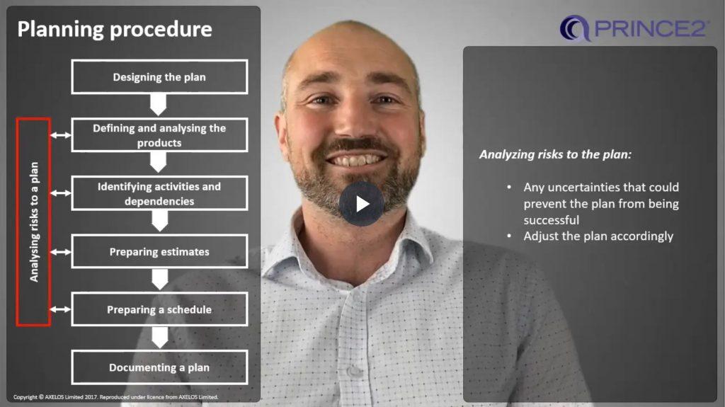 PRINCE2® – 6.2.2 – Planning procedure steps