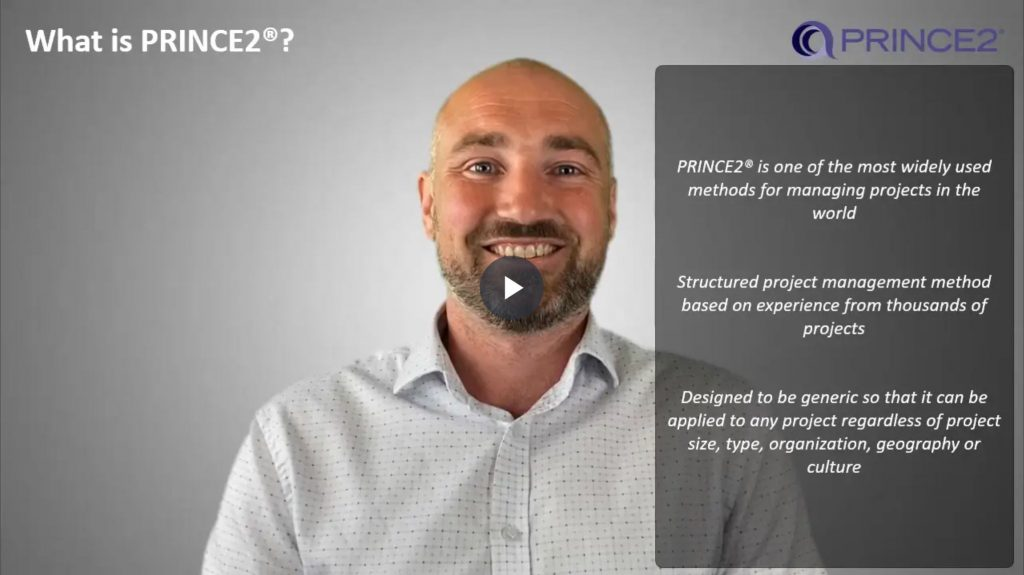 PRINCE2® – 1.1.1 –  What is PRINCE2®?